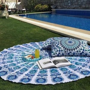 Other - Round Mandala beach cover up/tapestry